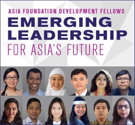 AsiaFoundationDevelopmentFellows2015