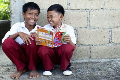 Books for Asia's Storytime in Asia campaign (Indonesia)