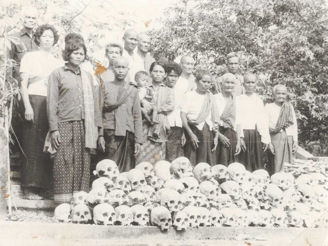Remains in Cambodia