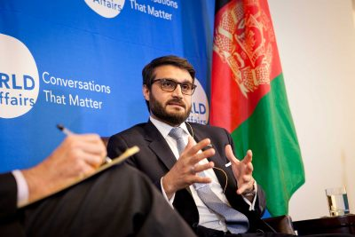 """We passed the toughest test of our time in 2014. Looking back, we're in a much better place today than we were 18 months ago,"" said Ambassador Mohib."
