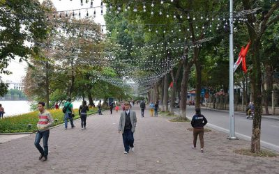 Reimagining Public Space in Crowded Hanoi