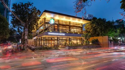 Starbucks in Cambodia