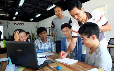 Hackathons Usher in New Chapter for Children's Books in Cambodia