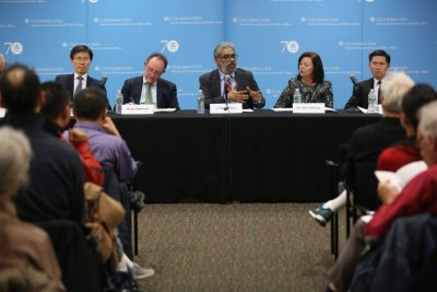 Asia Views on Americas Role in Asia event in New York. (Nov. 16, 2016)