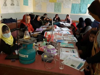 Science teacher training program, Badakhshan, Afghanistan.