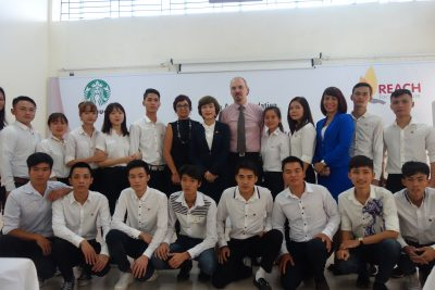 Starbucks Vietnam Scholarship recipients