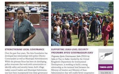 Local Governance in Timor-Leste cover image