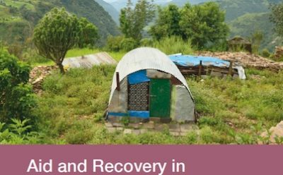 Aid and Recovery in Post-Earthquake Nepal: Qualitative Field Monitoring September 2016 cover