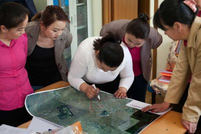 Mongolia community mapping