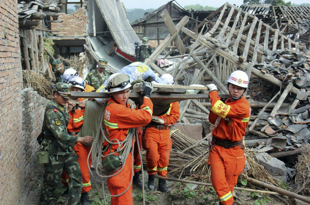 Sichuan earthquake relief