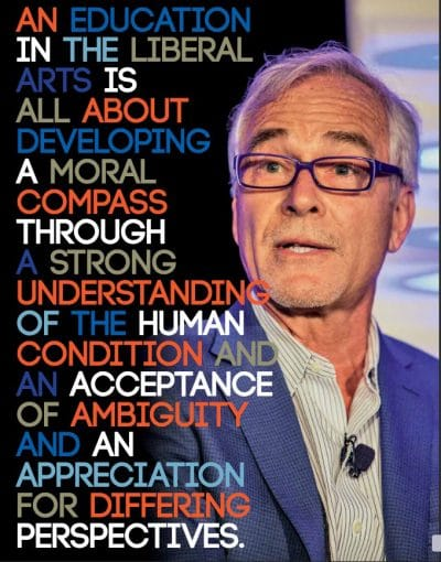 Asia Foundation trustee Tim Kochis as he apeared in A & S Marquette Magazine in 2018.