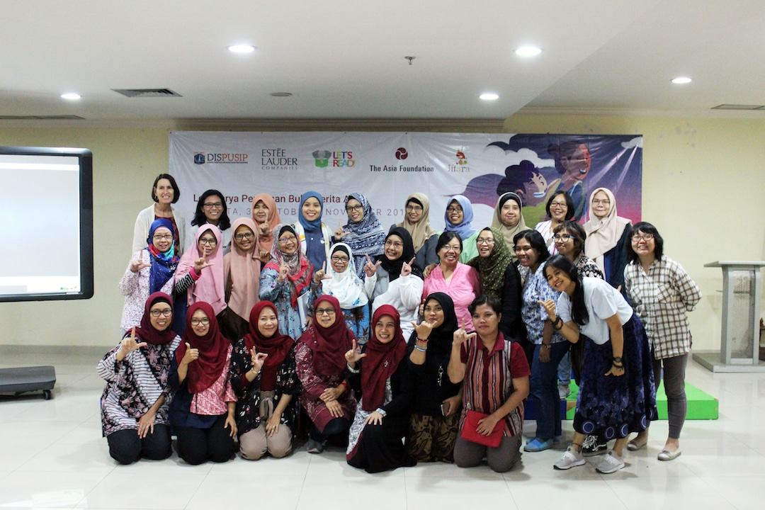 Group of women authors in Indonesia