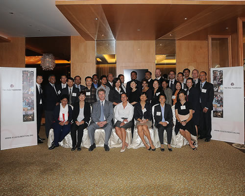 Participants at The Asia Foundation's Emerging Leaders Conference in Singapore