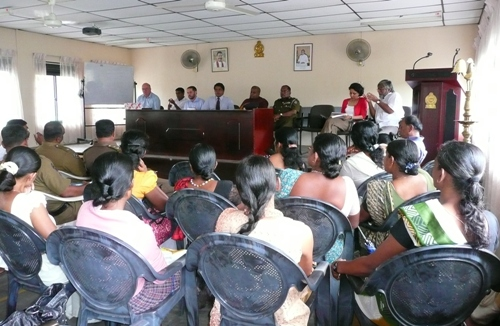 Community Policing Forum in Sri Lanka