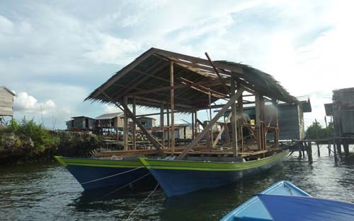 Floating school in Sabah