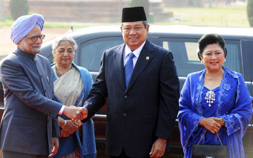 Indonesian President attends Republic Day in India