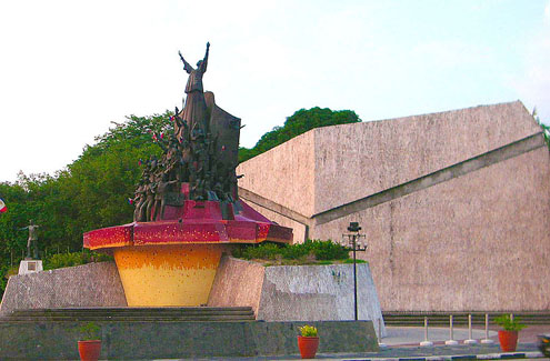 People Power Monument in Philippines