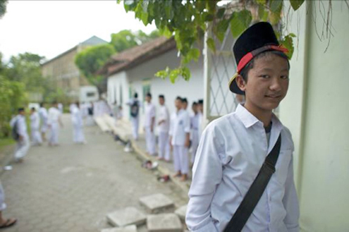 Islamic student in Indonesia