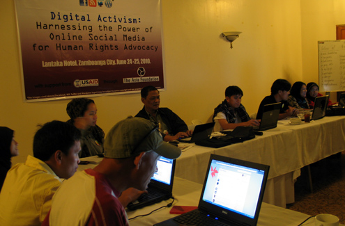 Digital Activism Training in Zamboanga