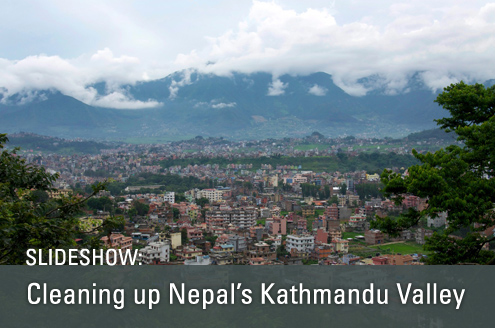 Cleaning up Nepal's Kathmandu Valley a slideshow