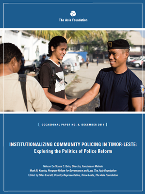 Community Policing in Timor-Leste