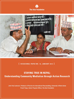 Nepal Community Mediation Report