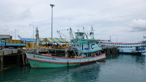 Thailand Fishing Boat
