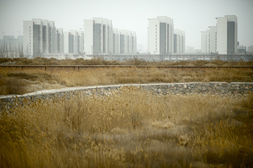 New sky-rises in Yinchuan