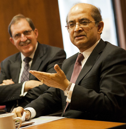 ADB's Rajat Nag in conversation with David Arnold
