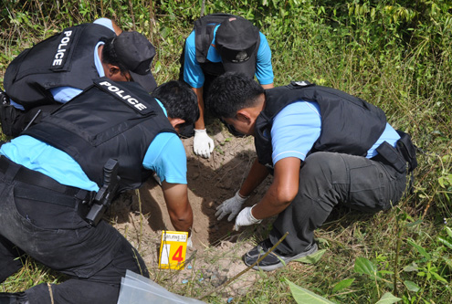 Forensic Science Police in Thailand