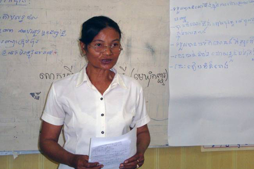Woman Councilor in Cambodia