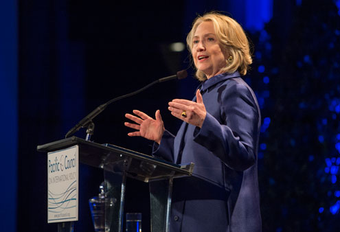 Hillary Clinton Receives Inaugural Christopher Award