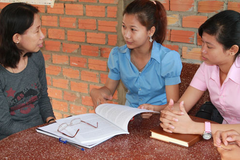 Cambodia Youth Training Class