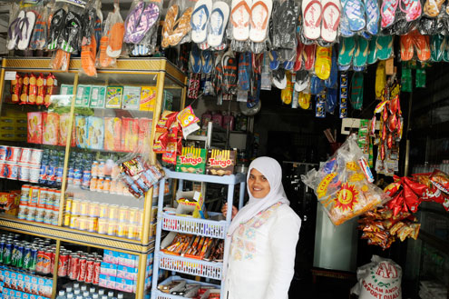 Indonesian Shopkeeper