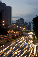 Indonesia busy street