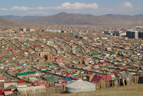 Mongolia Ger District