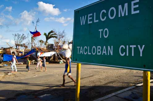 Tacloban after the typhoon