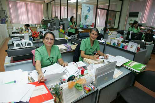 Women in office in Philippines