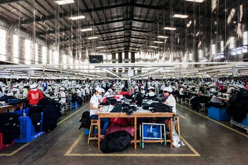 In Vietnam, textiles and apparel account for approximately 20 percent of the country's GDP. Photo/Flickr user ILO in Asia and the Pacific  http://bit.ly/1gBKFvo