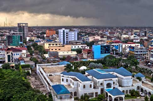 Monsoon in Phnom Penh