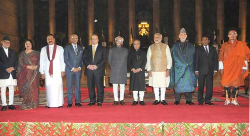 SAARC Leaders