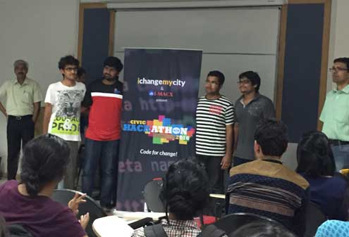 winning team of the hackathon